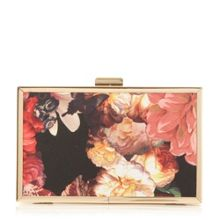 Head Over Heels Banito floral box clutch