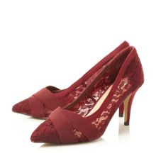 Alegre cross over lace courts