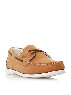 Navire premium leather boat shoe