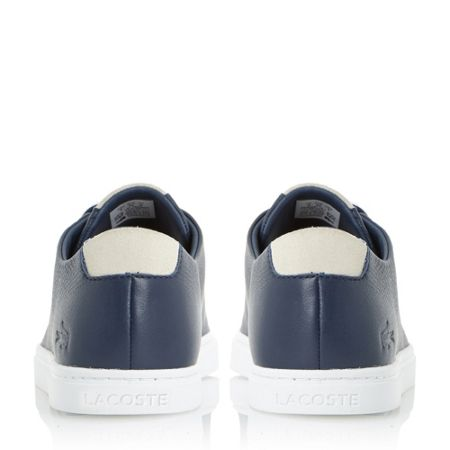 Lacoste Showcourt perforated leather trainer