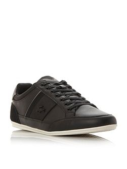 Chayman leather lace up trainer