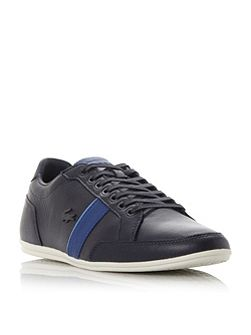 Alisos contrast stripe leathertrainer