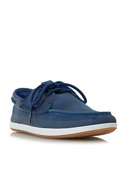 L.andsailing lace up boat shoe