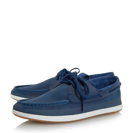 Lacoste L.andsailing lace up boat shoe