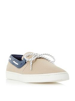 Gazon deck lace up boat shoe