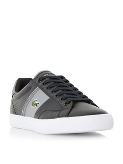 Lacoste Fairland perforated leather trainer
