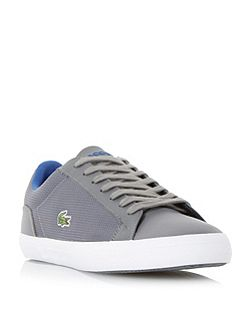 Lerond mesh detail leather trainer