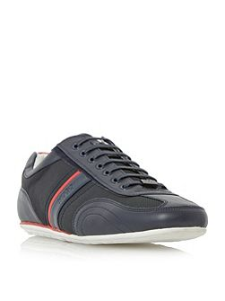 Thatoz two toned mixed material trainer