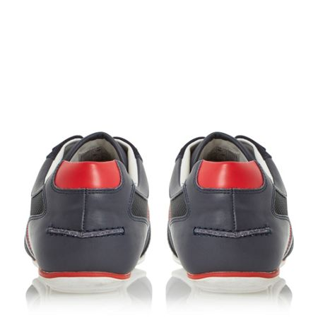 Hugo Boss Thatoz two toned mixed material trainer