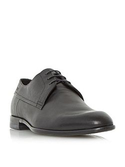 C-drerom textured leather derby shoe