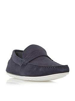 C-traveso plain saddle driver loafers
