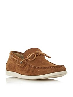 Newlan Interlacing Detail Boat Shoes