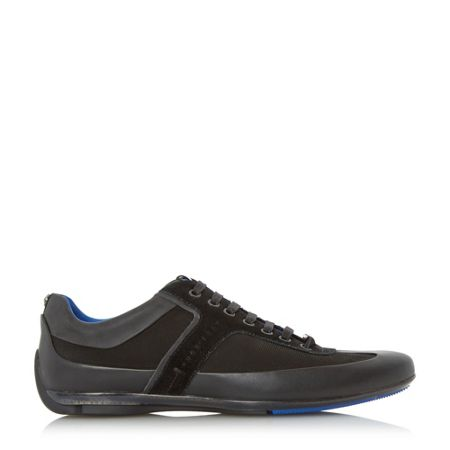 Hugo Boss Merceso mercedes edition leather trainer
