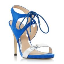 Head Over Heels Matava ghillie lace up high heel sandals