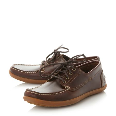 Timberland A13JW Gum Sole 4 Eye Boat Shoes