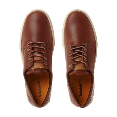 Timberland A15ed cupsole leather derby shoes