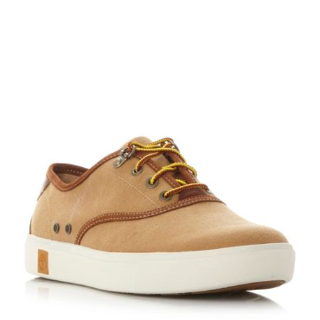 Timberland A15kc canvas cupsole oxford trainers