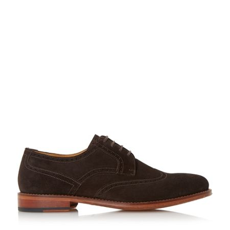 Paul Smith London Nevsky round toe suede brogues