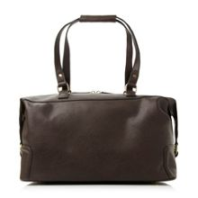 Dune Patterson woven front pocket holdall bag