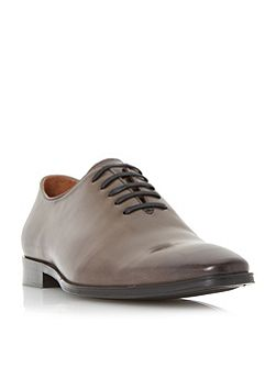 Ringside square toe leather oxford shoes