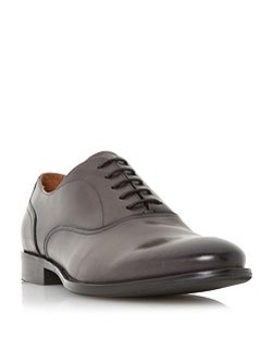 Redcoat burnished leather oxford shoes