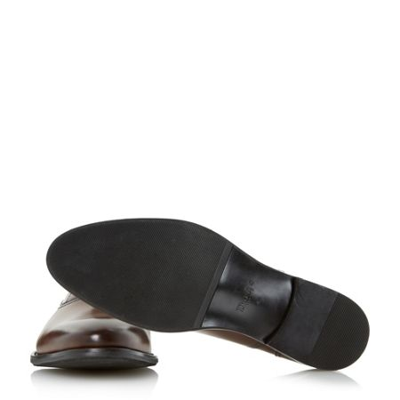 Dune Redcoat burnished leather oxford shoes