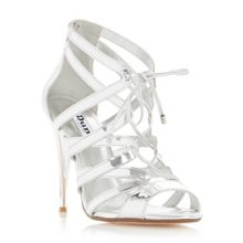 Dune Mila ghillie lace high heel sandals
