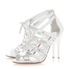 Mila ghillie lace high heel sandals