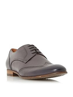 Ravene leather wingtip gibson shoes