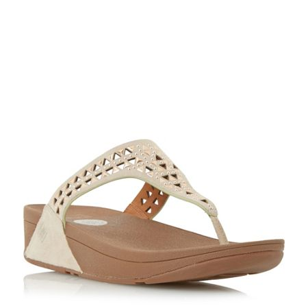 FitFlop Carmel embellished wedge sandals