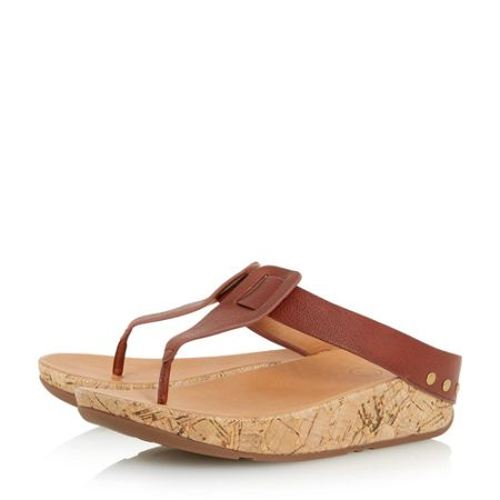 FitFlop Ibiza cork wedge sandals