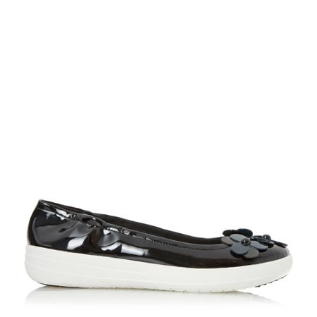 FitFlop F-sporty flower floral detail flat shoes