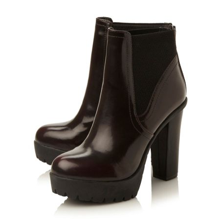 Steve Madden Amandaa sm chunky cleated low boots