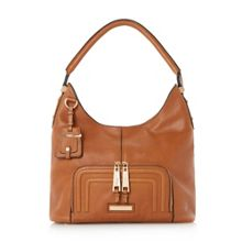 Duke leather hobo bag