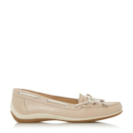 Geox D yuki bow front loafers