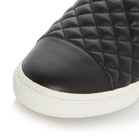 Geox D new club quilted trainers