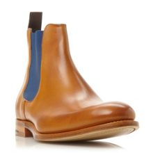 Hopper colour pop leather chelsea boots