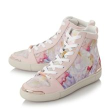 Ted Baker Paryna floral gold detail shoes