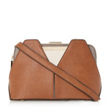 Dawwn small colour block frame bag