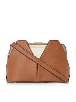 Dawwn colour block shoulder bag