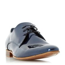 Dune Rocket man metallic derby shoes
