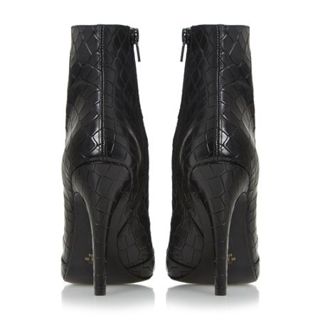 Dune Omenie leather lace up shoe boot