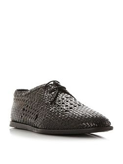 Barra woven lace up shoe
