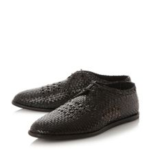 H by Hudson Barra woven lace up shoe