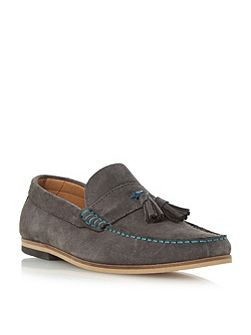 Bonsai suede tassel loafer