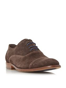 Racketeer suede lace up oxford shoe