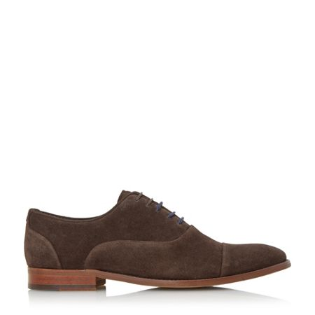 Dune Racketeer suede lace up oxford shoe