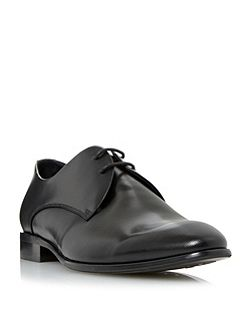 Revellery embossed leather derby shoe