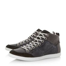 Sacremento lace up high top trainers