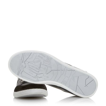 Dune Sacremento lace up high top trainers